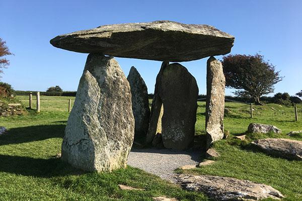stone burial chamber